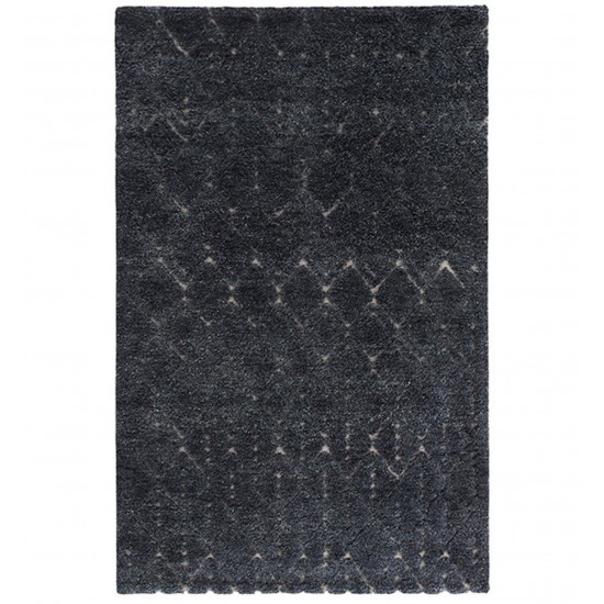 GAN HAND KNOTTED COLLECTION BEREBER GREY RUG