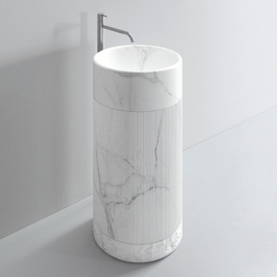 MILLDUE NOORTH ROMA FREESTANDING WASHBASIN