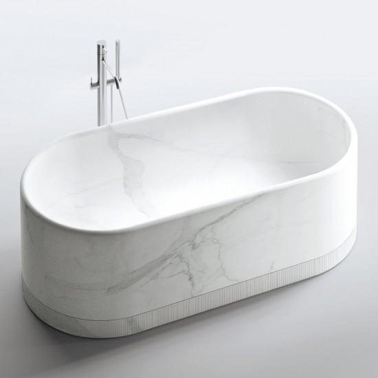 MILLDUE NOORTH ROMA FREESTANDING BATHTUBE