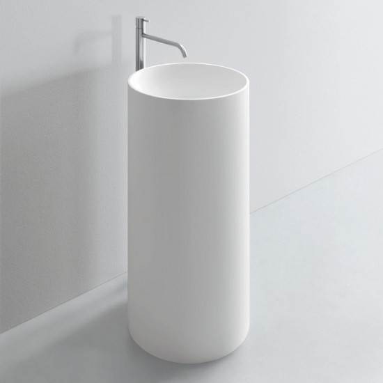MILLDUE NOORTH TUBE FLOOR STANDING WASHBASIN