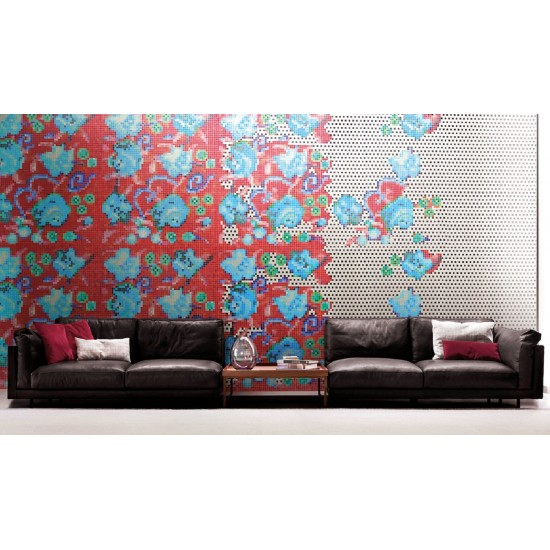 BISAZZA DECORI FLORA AFFRESCO A