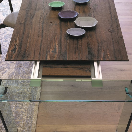 MINIFORMS ARIA EXTENSIBLE DINING TABLE