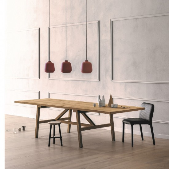 MINIFORMS FRATTINO EXTENDIBLE DINING TABLE