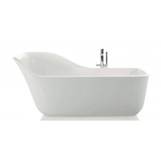 WANDA Antonio Lupi Oval Ceramilux Bathtub