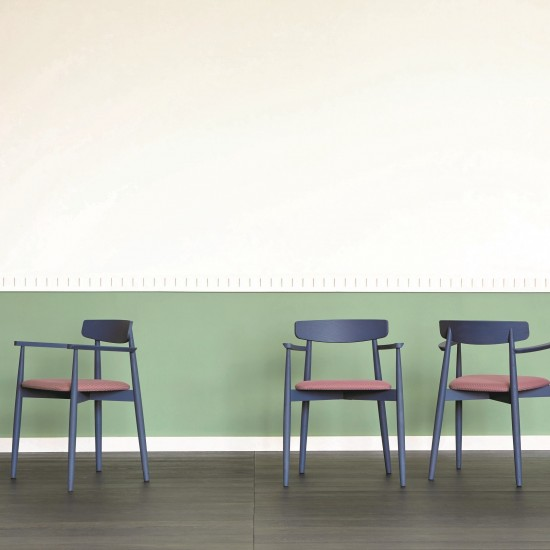 MINIFORMS CLARETTA CHAIR WITH ARMRESTS