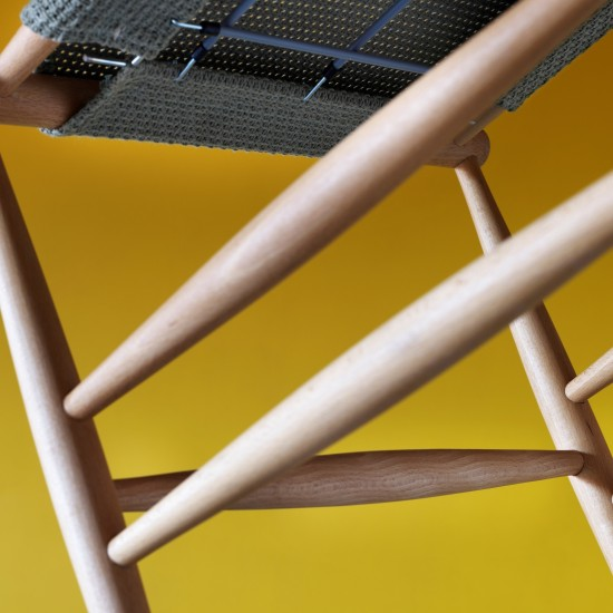 MINIFORMS PELLEOSSA CHAIR WITH ARMRESTS