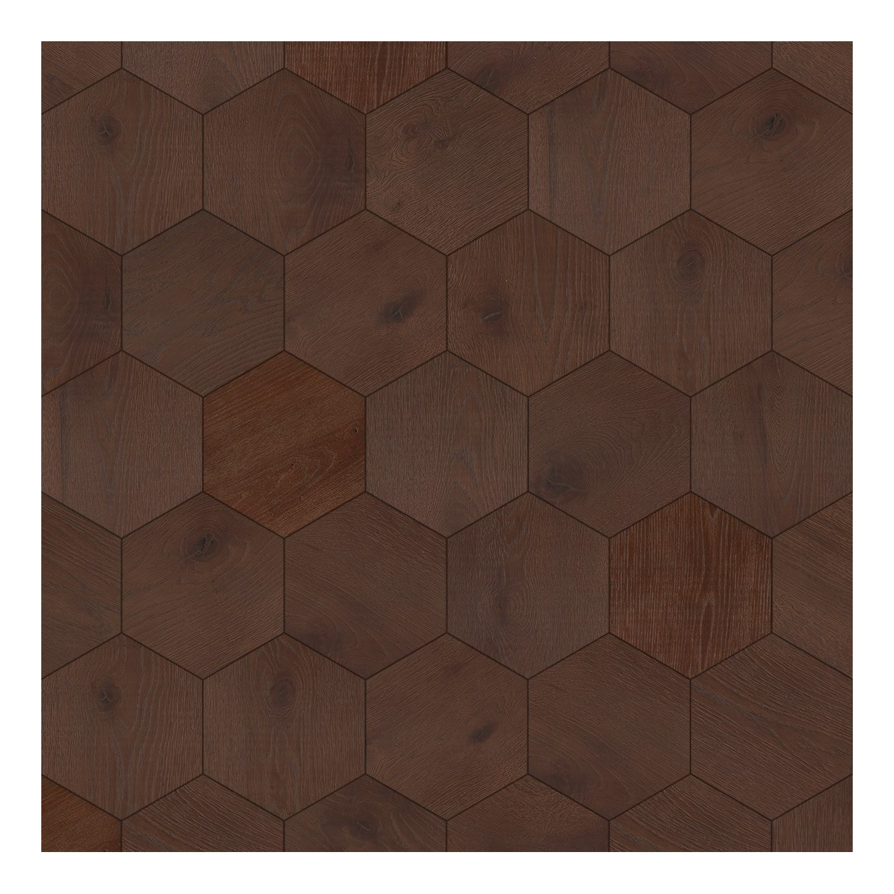 Bisazza Wood Esagono Cuoio (E) 202X223