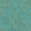 Bisazza Wood Esagono Mint (E) 202X223