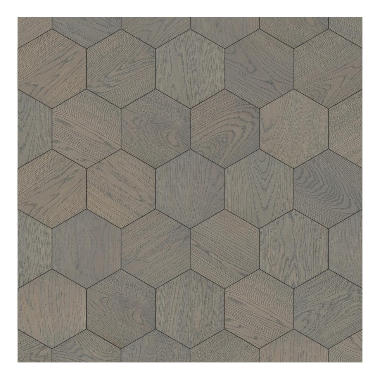 Bisazza Wood Esagono Pearl (E) 202X223