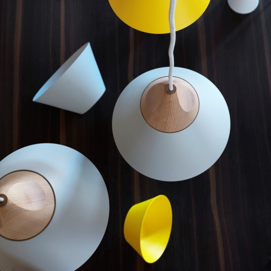 MINIFORMS SLOPE SMALL SUSPENSION LAMP