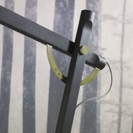 MINIFORMS SLOPE BRONZÈ LAMP WITH ARM