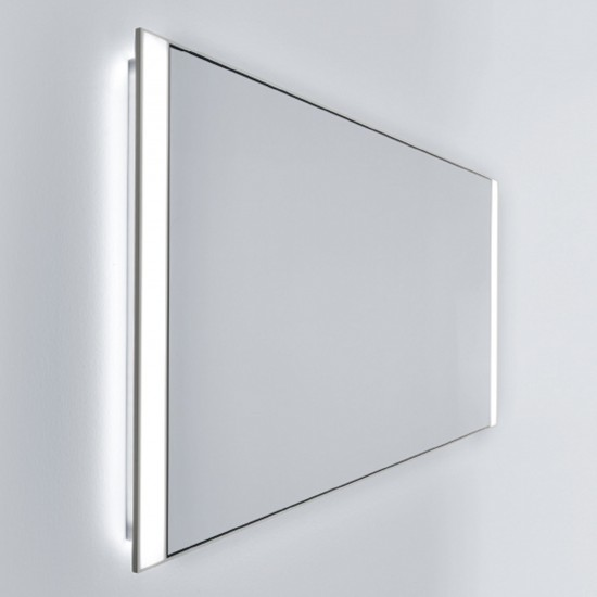 FALPER QUATTRO.ZERO ALUMINIUM MIRROR CABINET WITH FRONT LIGHT