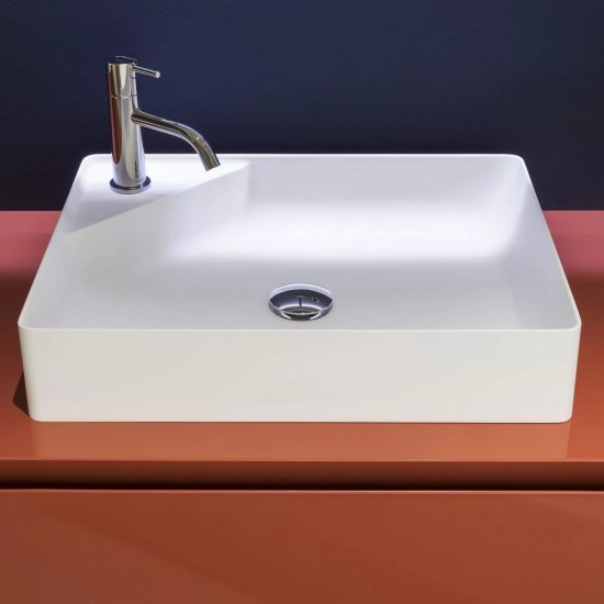 ANTONIO LUPI SIMPLO RECTANGULAR BASIN