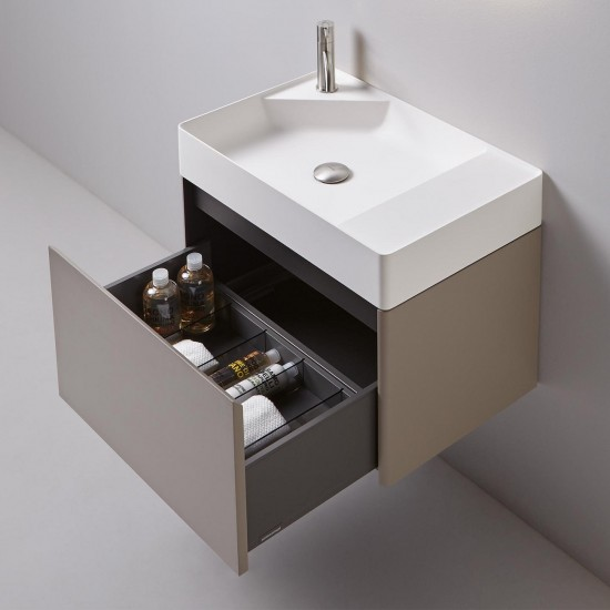 NLSIMPLO63 Rectangular Top Mount Flumood Sink