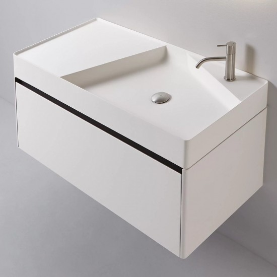 NLSIMPLO108 Rectangular Top Mount Flumood Sink