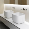 POGGIO Rectangular Top Mount Flumood Sink