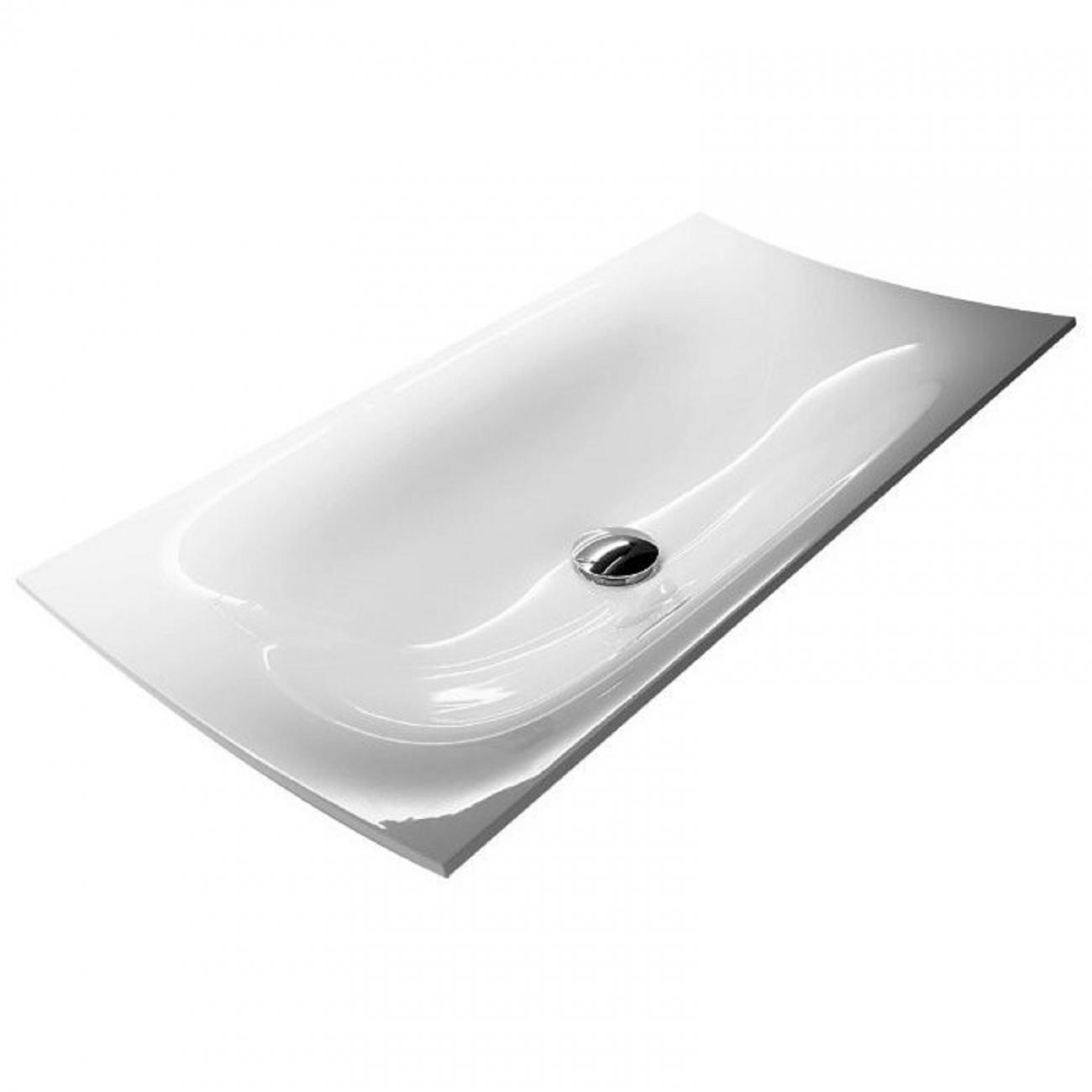 FOGLIO81 Antonio Lupi Rectangular Encased Ceramilux Sink