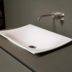 FOGLIO63 Antonio Lupi Rectangular Encased Ceramilux Sink