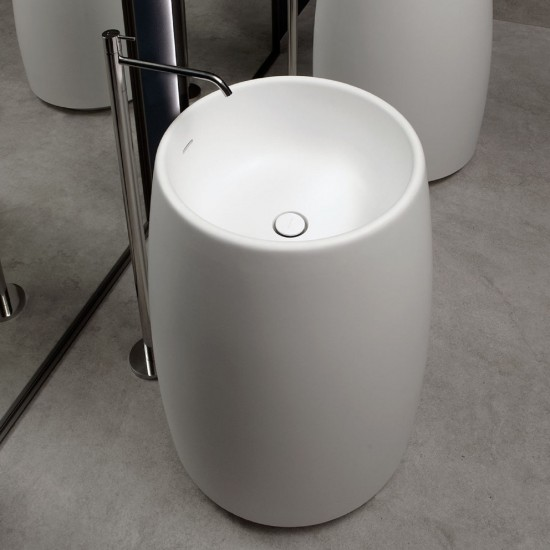ANTONIO LUPI BARREL LAVABO FREESTANDING