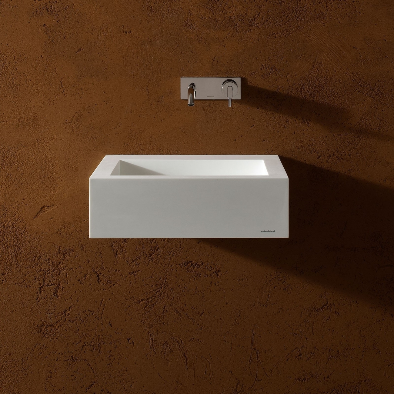 SLOT21 ANTONIO LUPI SQUARE CORIAN WASHBASIN