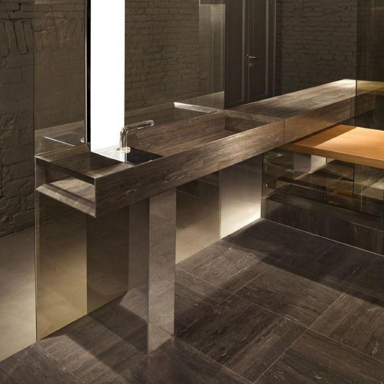Lavabo A Colonna Design salvatori onsen lavabo a colonna - tattahome