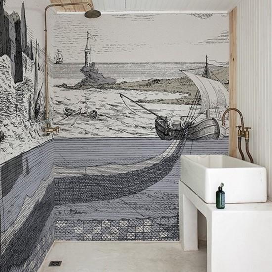 Wall & Decò WET SYSTEM MOBILIS IN MOBILI WALLPAPER