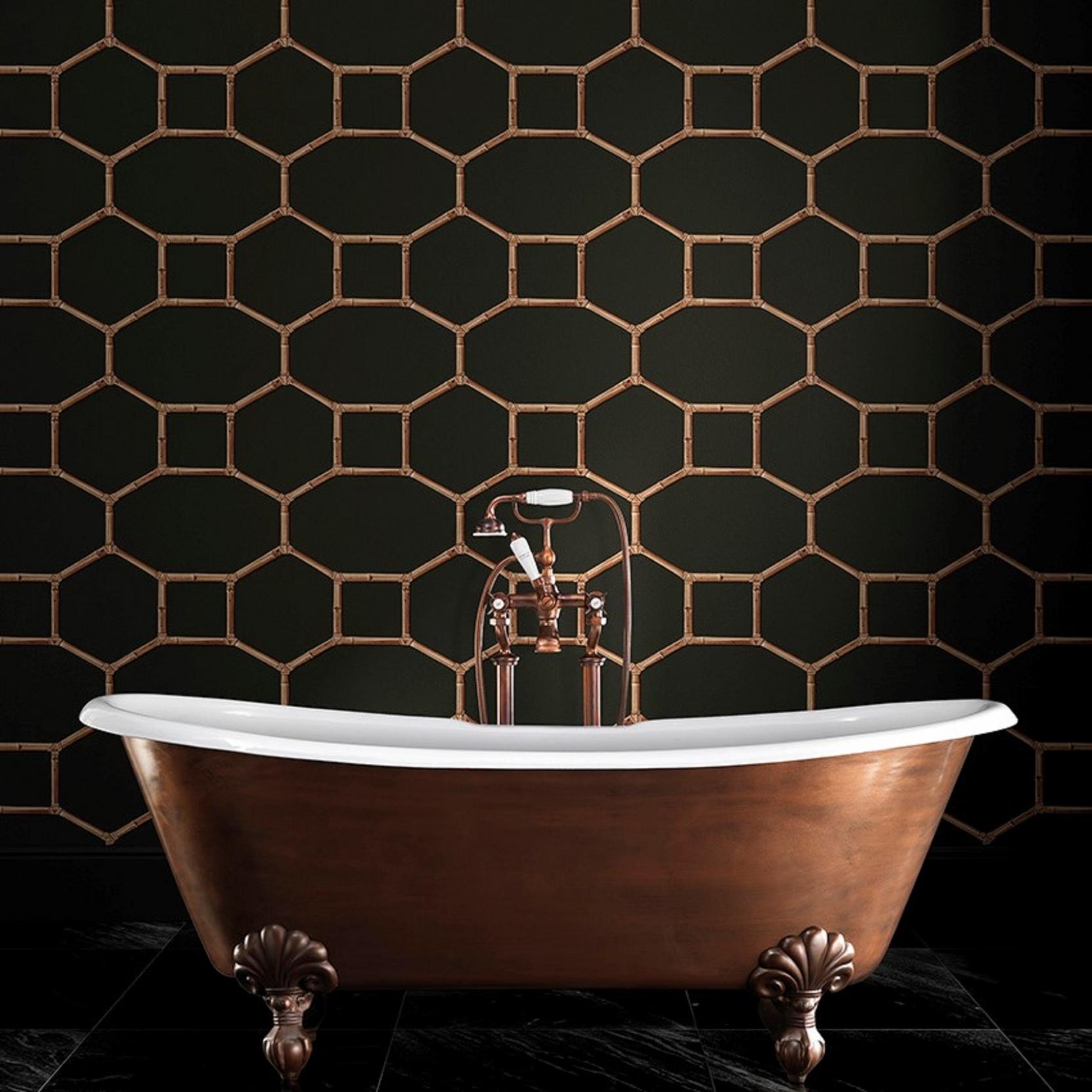 devon devon bamboo wallpaper tattahome. Black Bedroom Furniture Sets. Home Design Ideas