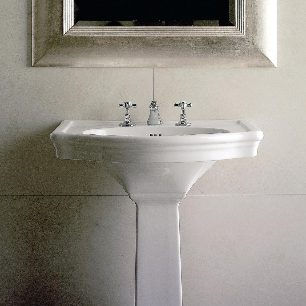 Lavabo A Colonna Design devon & devon new etoile lavabo con colonna - tattahome
