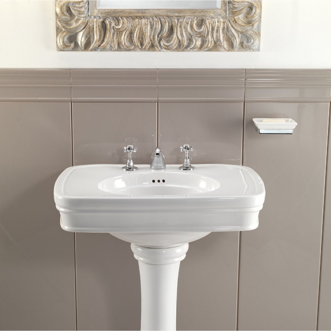 Piastrelle Devon E Devon.Devon Devon Rose Washbasin With Pedestal Tattahome