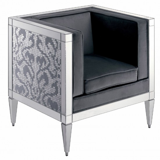 BISAZZA HOME FRANK DAMASCO ARMCHAIR