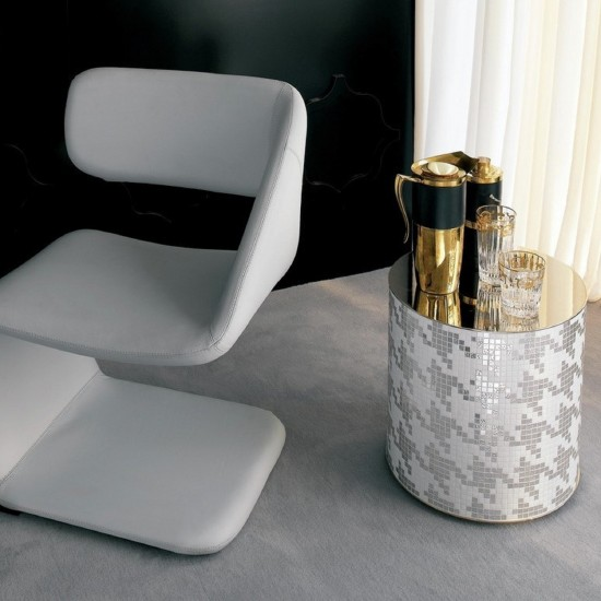 BISAZZA HOME PETIT PIED DE POULE POUF-COFFEE TABLE