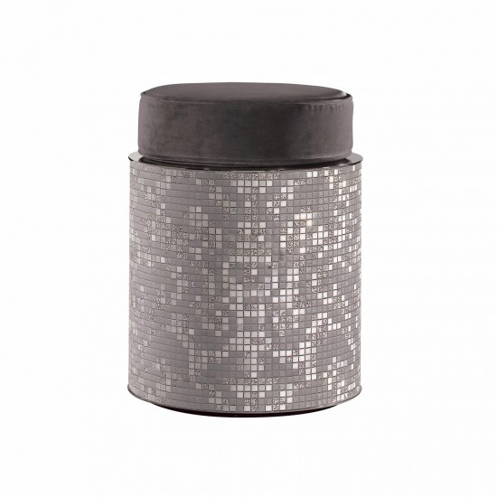BISAZZA HOME PETIT DAMASCO POUF-TAVOLINO
