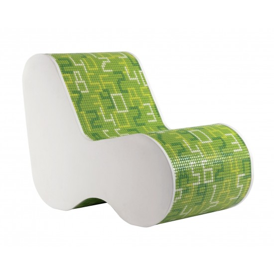 BISAZZA HOME SINGLE SOFT MOSAIC DATA GREEN