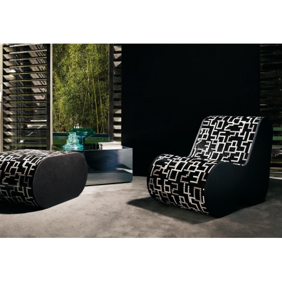 BISAZZA HOME PARTNER SOFT MOSAIC DATA BLACK