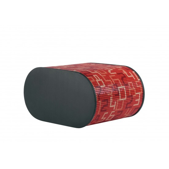 BISAZZA HOME PARTNER SOFT MOSAIC DATA RED