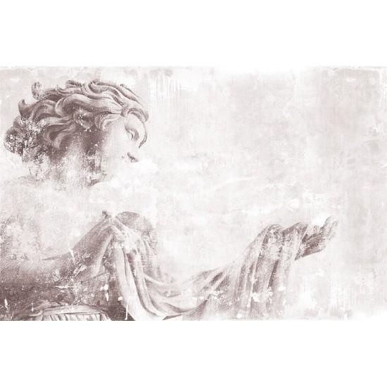 LONDONART WHITE ANGEL WALLPAPER