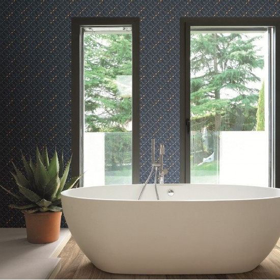 APPIANI DENIM MOSAIC STRIATO