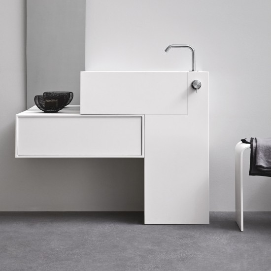 REXA DESIGN UNICO ARGO FREESTANDING WASHBASIN