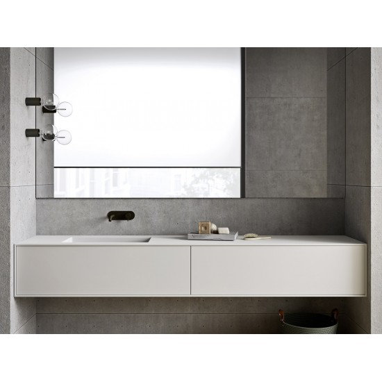 REXA DESIGN UNICO WASHBASIN WITH TWO DRAWERS