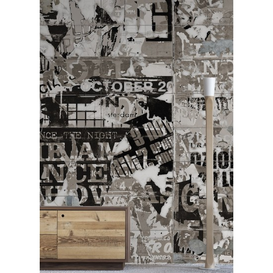 LONDONART STREETCLEANER WALLPAPER