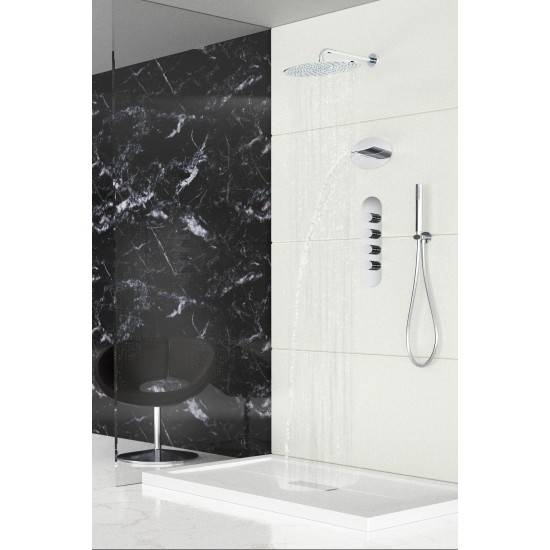 BELLOSTA REVIVRE OVAL CASCADE SHOWER