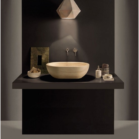 GLOBO LE PIETRE FORTY3 WASHBASIN