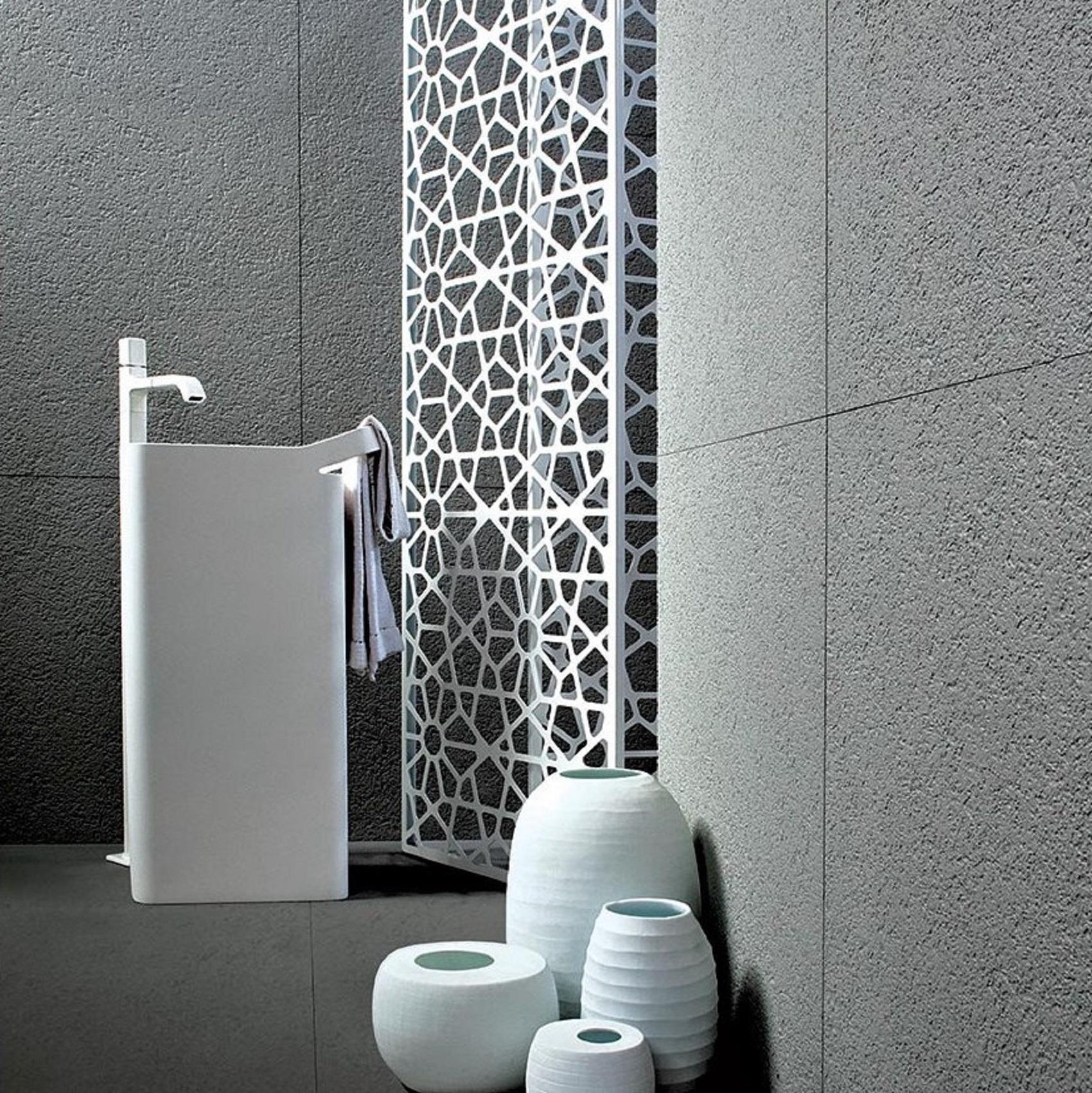 Polaris Designed For Living Srl zucchetti kos lab 03 freestanding washbasin - tattahome