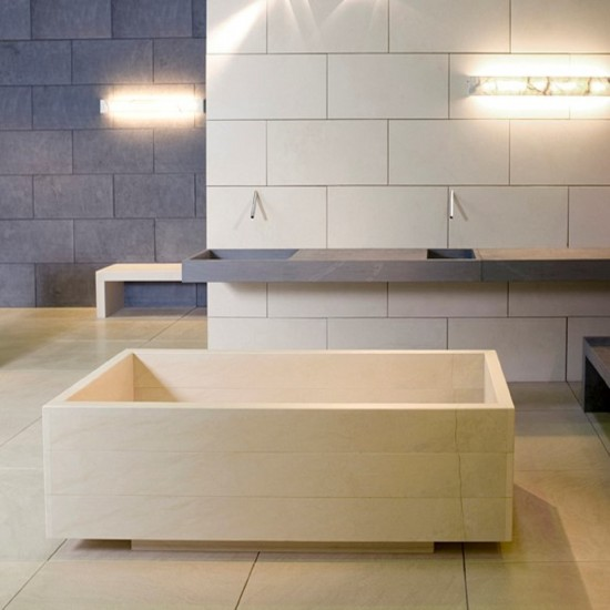 PIBAMARMI BASIC COLLECTION CITROHAN DOPPIA BATHTUB