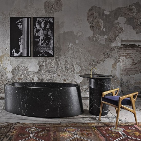 PIBAMARMI DESCO OVAL BATHTUB