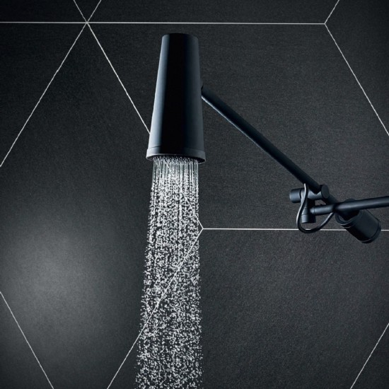 ZUCCHETTI CLOSER WALL-MOUNTED SHOWER HEAD