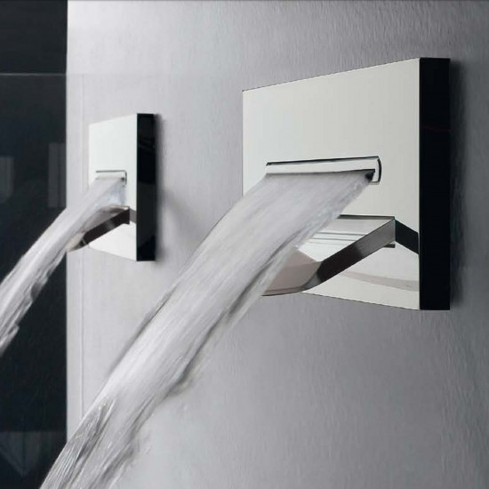 ZAZZERI SHIRÒ WALL-MOUNTED SPOUT