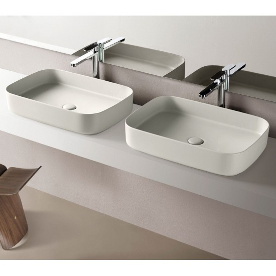 CIELO SHUI COMFORT RECTANGULAR WASHBASIN