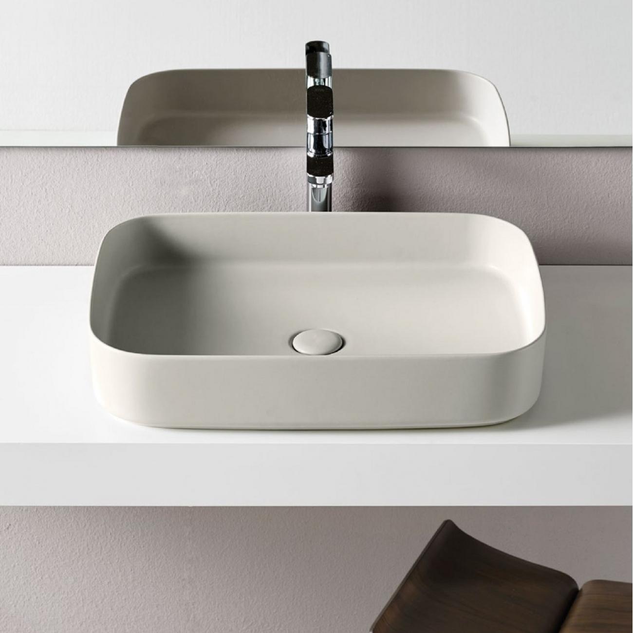 Cielo Shui Comfort Rectangular Washbasin Tattahome