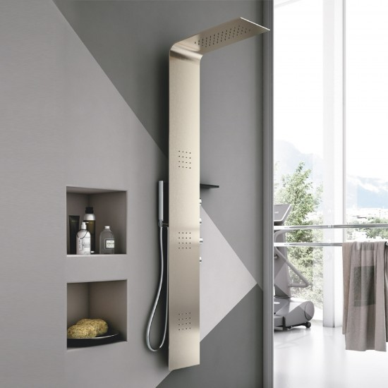 HAFRO GEROMIN LAMA SHOWER COLUMN METAL